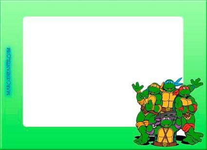 Marcos de las tortugas ninjas fotos