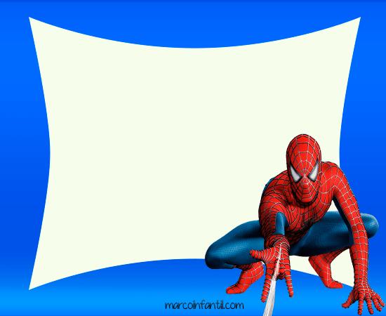 Marcos de Spiderman | Marcos Infantiles