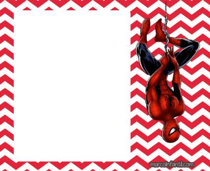invitaciones spiderman - tarjetas spiderman