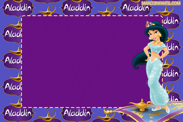 Tarjetas-Aladdin-invitaciones-aladdin-birthday-invitations-aladdin-frames