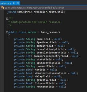 Netscaler-Nitro-server-cs