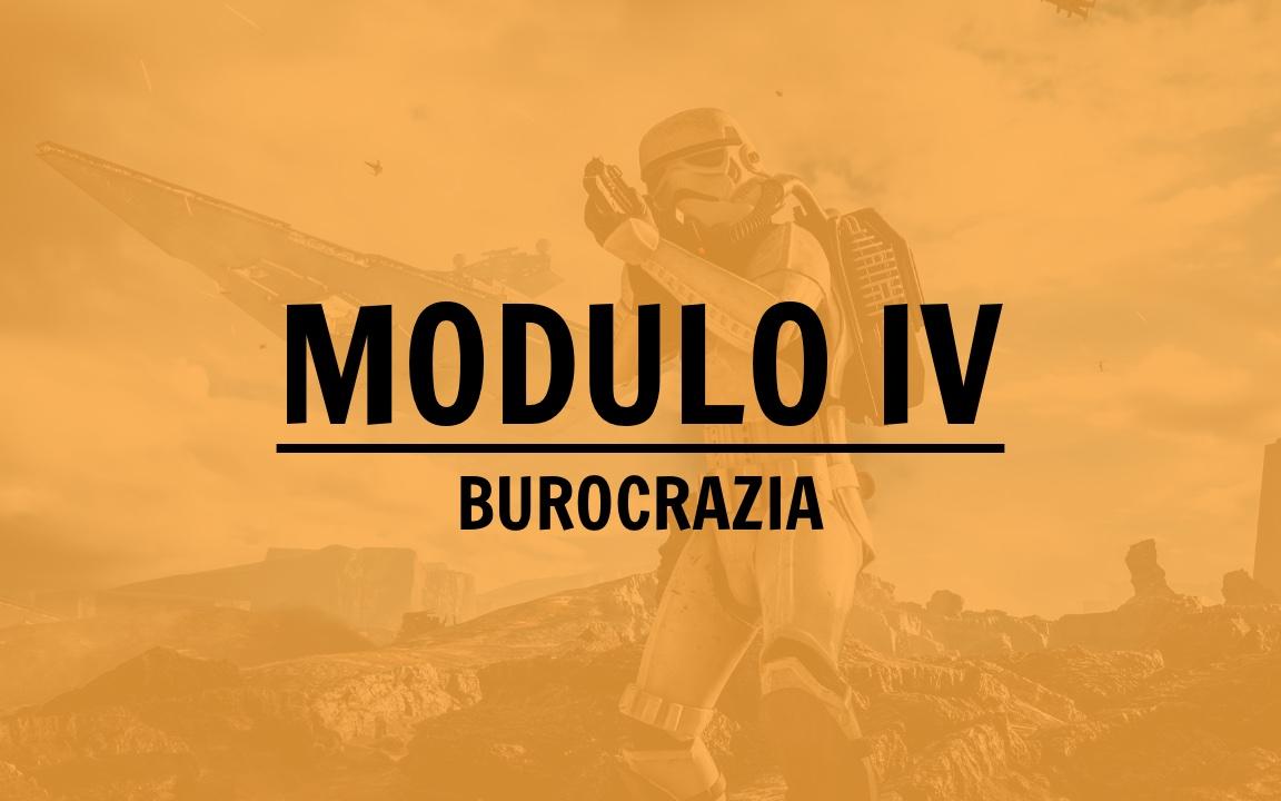 MODULI IV