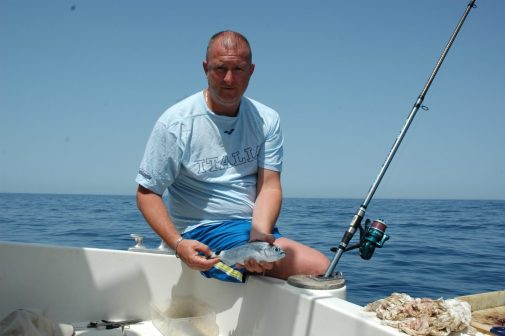 Pesci semplici come l'occhiata sono spesso prede molto interesanto se pescate con la giusta attrezzatura