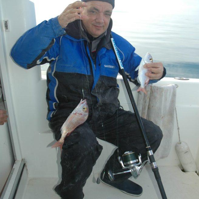 La tecnica di pesca che identifica il pagello è sicurament eil bolentino