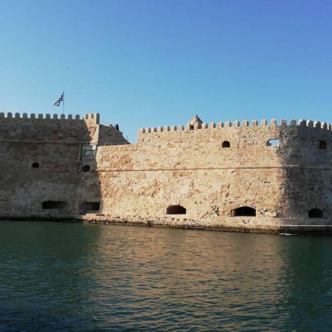La fortezza di Helaklion Creta