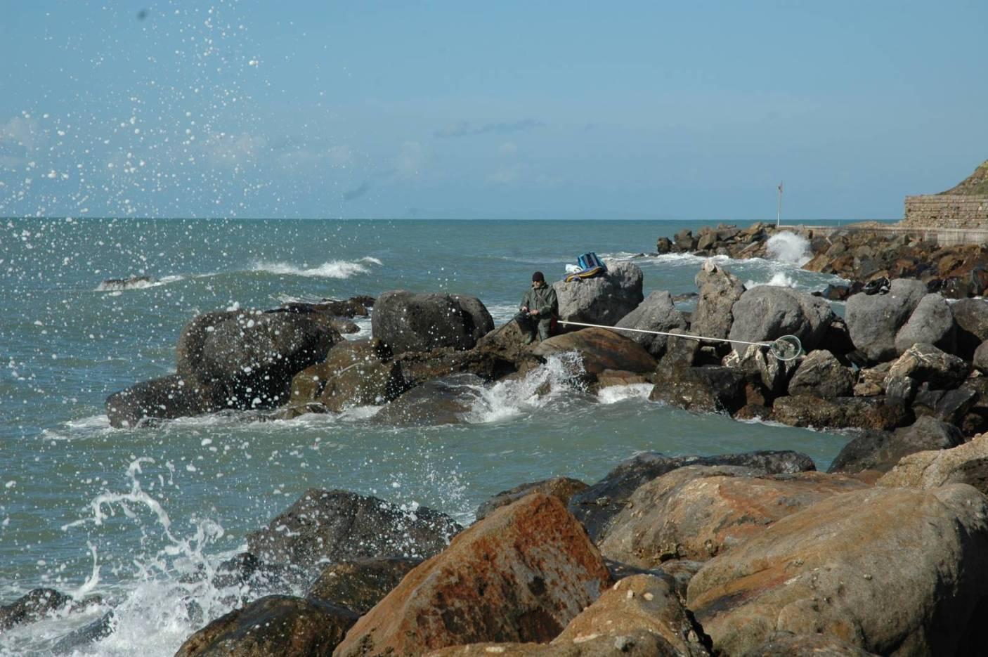 Il colore dell'acqua ideale per una battuta di pesca in bolognese