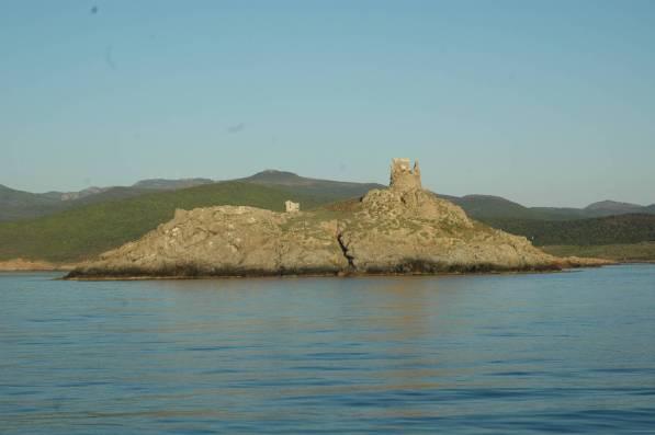 L'Isola della Giraglia a nord di capo corso