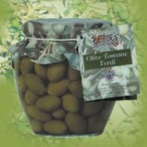 Olive verdi olio Frantoio Giovani