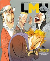 LMU Magazine cover for Winter 2020