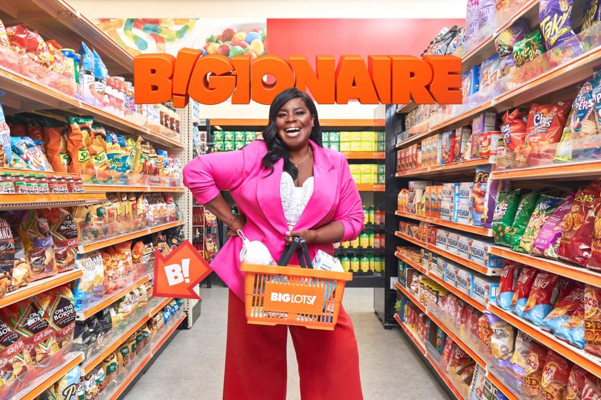 Retta takes Big Lots to a new level in 'BIGionaire' campaign