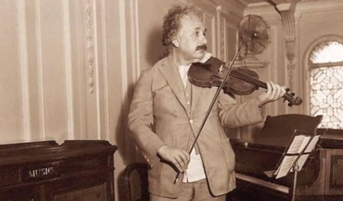 einstein-violin