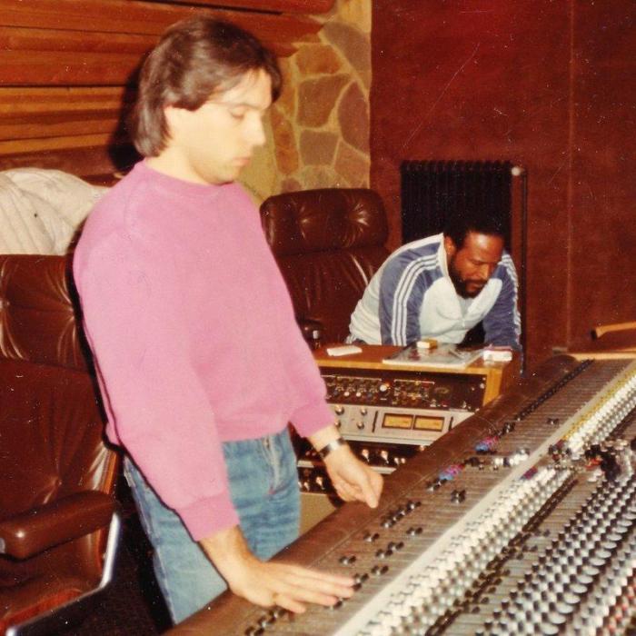 Mike Butcher en Marvin Gaye