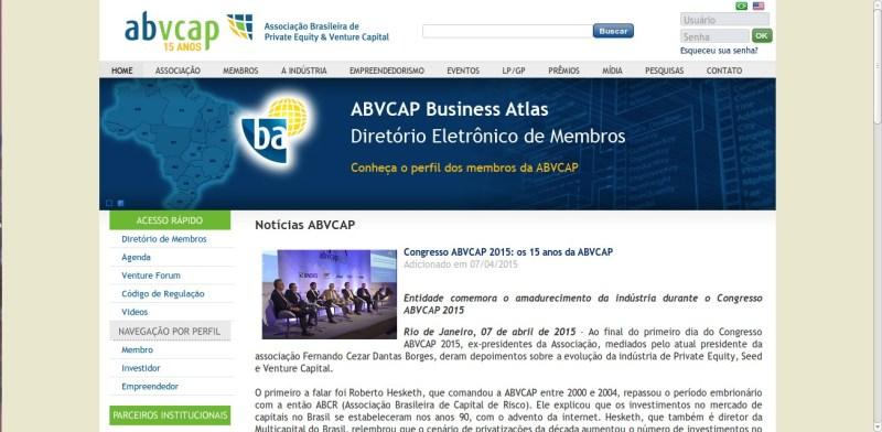 Congresso ABVCAP 2015