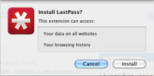 Install lastPass on Google Chrome