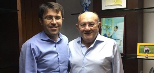 Resultado de imagem para prefeito de Serra Negra do Norte, Sérgio Fernandes de Medeiros.