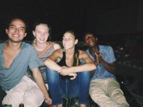 Amanda's rooftop crew