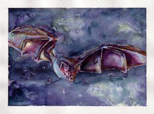 Purple Batty