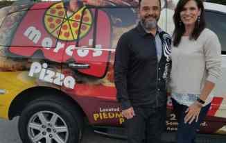 Apopka, FL, Marco's Pizza owners Edwin and Yesenia Baron