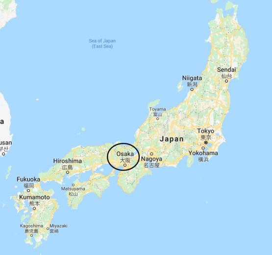 Plano Osaka