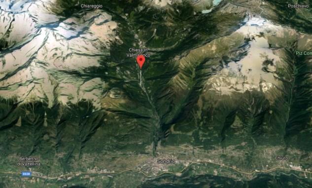 Mapa acercado Torres Santa María