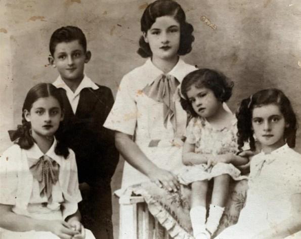 Foto niños Gutierrez Velasco