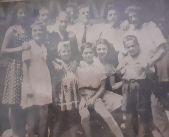 Luis Pastora y los nueve hijos