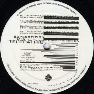 12-Inch-Vinyl The Telepathic Superstition Remix E.P. (1995)