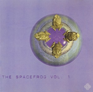 2xCD - Spacefrogs Volume 1 - 1994 - Vorderseite
