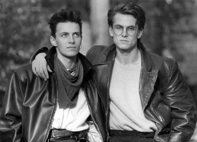 Marcos und Stefan - Amöneburg 1985