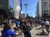 Inauguração da Ciclovia da Avenida Paulista