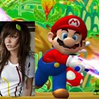 Marco de Mario Bros para fotos