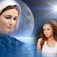 Marcos cristianos para fotos: Vírgen María
