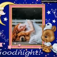 Marcos de fotos de buenas noches