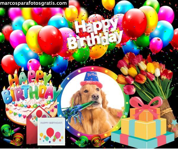 Marcos de feliz cumpleaños