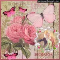 5 Bellos marcos para fotos con adornos y flores