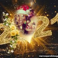 Marcos de fotos para Año Nuevo 2021