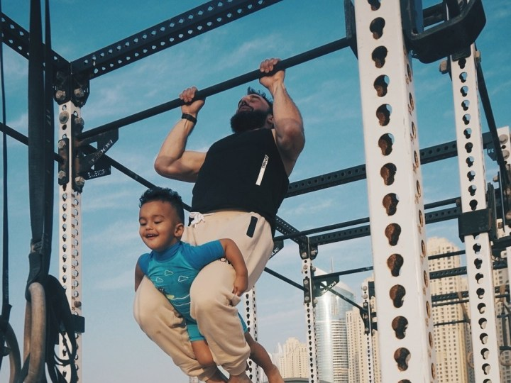 Outdoor – Father and Son Workout