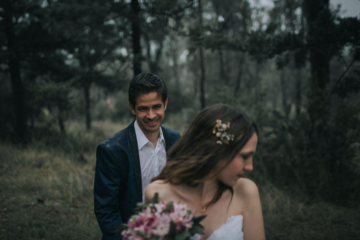 wedding photographer marcosvaldés|FOTÓGRAFO® Trash the Dress in the woods
