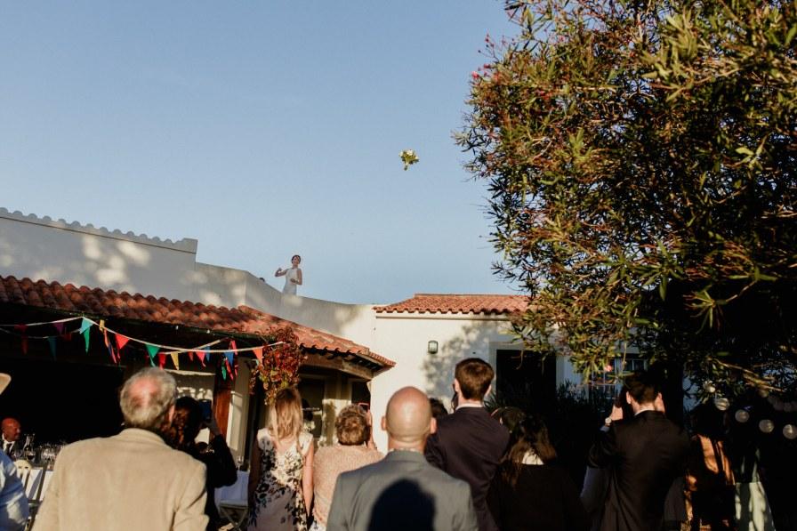 lançamento do ramo da noiva