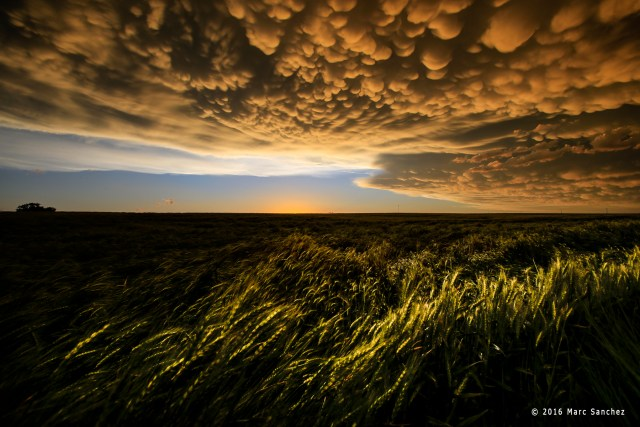 2016 May 24: Storm chasing on The Great Plains in Dodge City, Kansas.  (Photo by: Marc Sanchez)