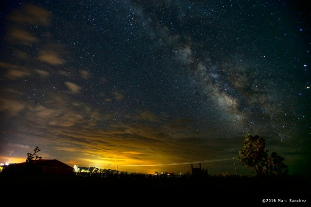2016 August 03:  A general view of the Milky Way at Walking Box Ranch in Searchlight, Nevada.