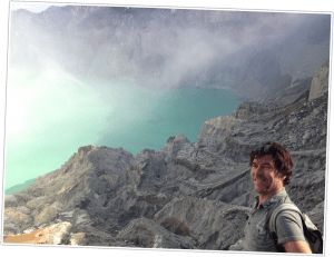 Marc op IJen vulkaan