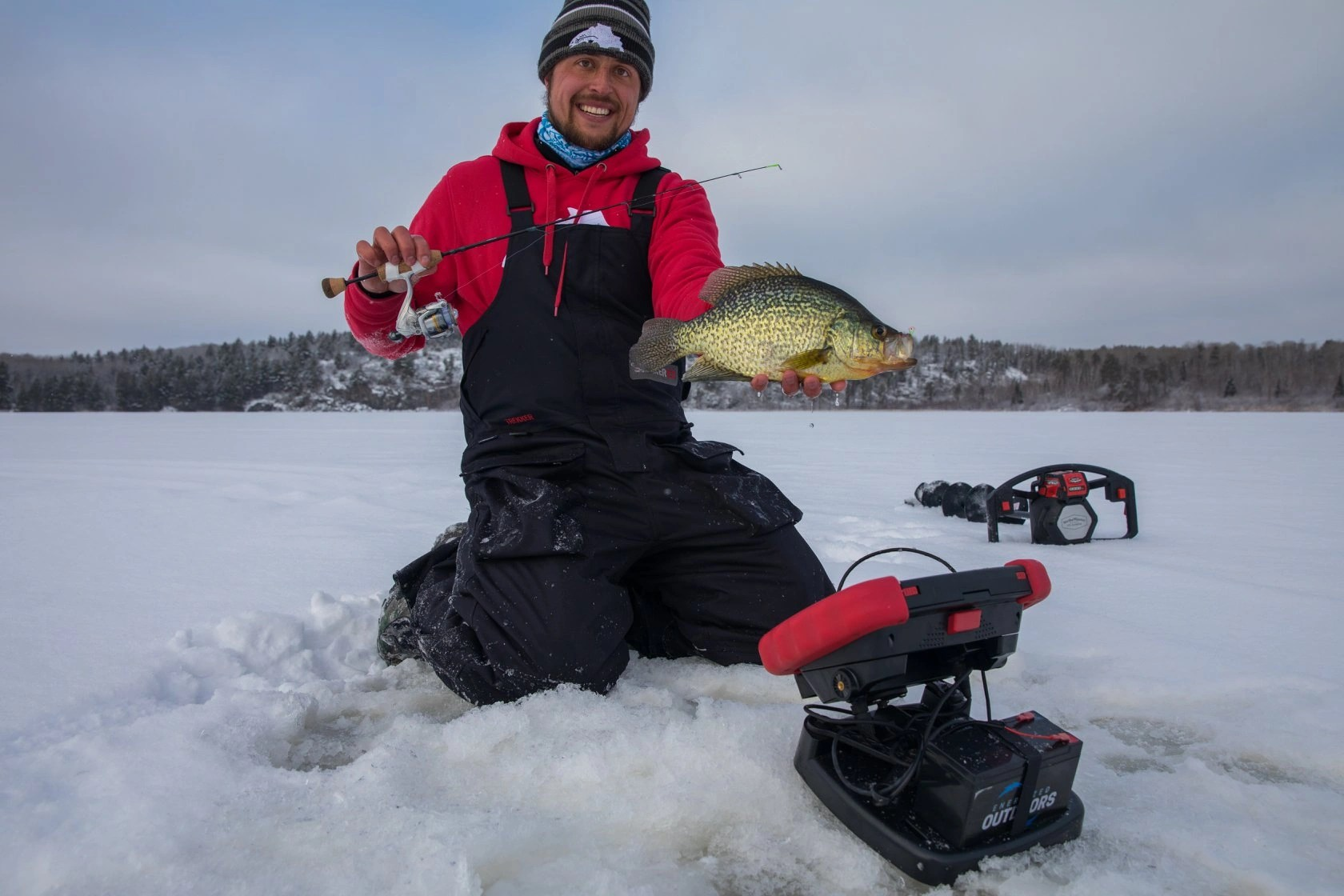 MarCum RT-9 2.0 Ice Fishing Flasher with Navionics