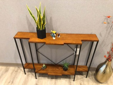 marcus dental front office side table decor - Tour The Office