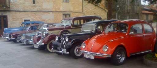 coches antigos de Agolada