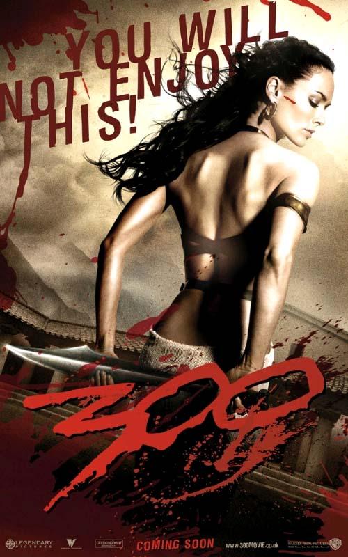 Lena Headley é a Raíña Gorgo en 300