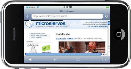 Microsiervos no iPhone