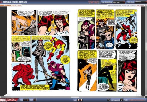 A Viúva Negra en Amazing Spider-Man nº 86