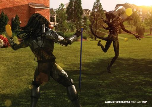 Predator contra Alien xogando