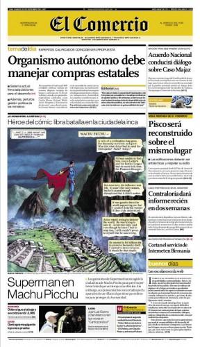 portada de El Comercio